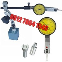 Dial Test Indicator 0-0.8mm with Magnetic Stand ( Alat Ukur Presisi)