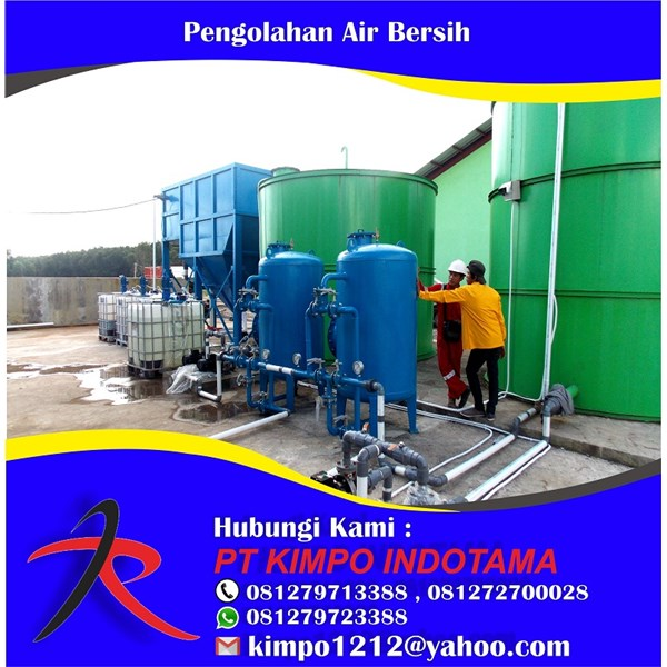 Jasa Pengolahan Air Bersih ( Wtp ) Water Treatment Plant