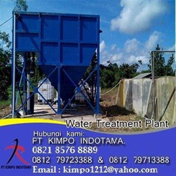 Wtp For Forestry Industry - Water Treatment Lainnya