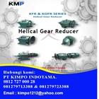 Helical Gear motor KMP 1