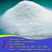 Ammonium Bicarbonate - Bahan Tambahan Makanan