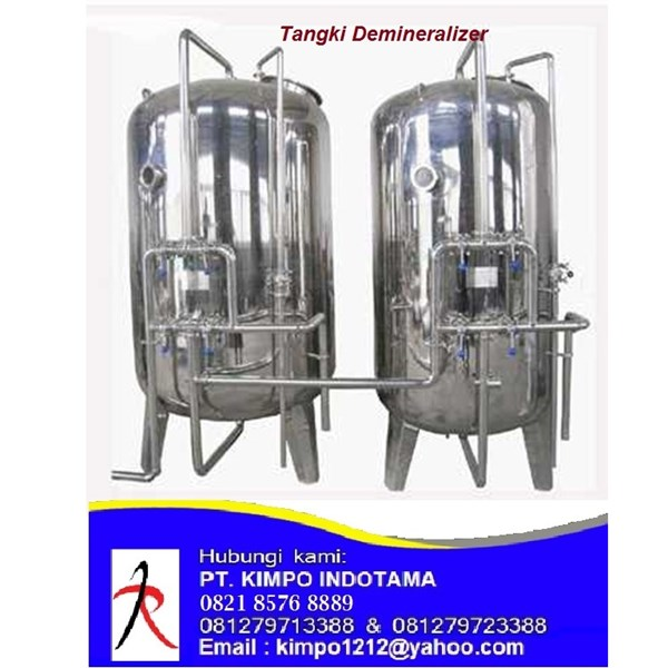 Tangki Demineralizer - Filter Air