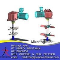 Flange Mixer Agitator 1