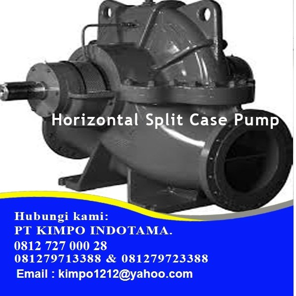 Pompa Horizontal Split Case Pump