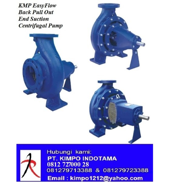 EasyFlow Back Pull Out End Suction / Pompa Air Sumur KMP