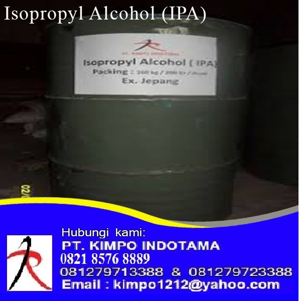 Jual Isopropyl Alcohol