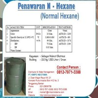 Jual N Hexane - Kimia Industri 2