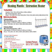 Jual Heating Mantle - Alat Laboratorium Umum 2
