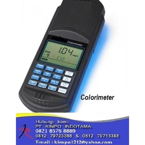 Colorimeter - Alat Ukur Warna