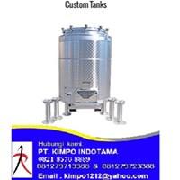 Custom Stainless Steel Tank -Tangki Stainless