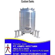 Custom Stainless Steel Tank - Water Treatment Lainnya