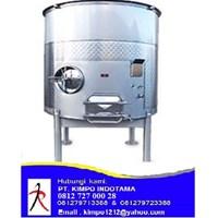 Open Top Stainless Steel Tank - Tangki Stainless