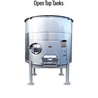 Open Top Stainless Steel Tank - Water Treatment Lainnya
