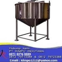 Chemicals Mixing Stainless Steel Tank - Tangki Stainless