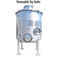 Removable Top S/S Tank - Water Treatment Lainnya