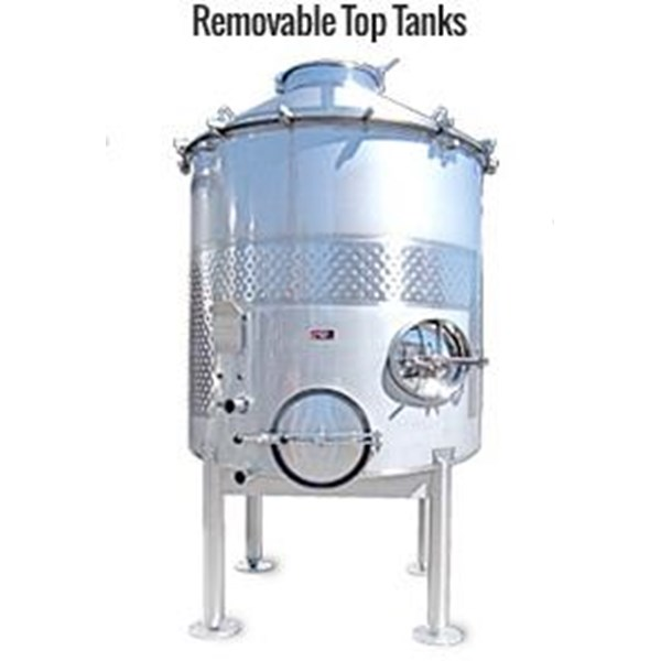 Removable Top S/S Tank - Tangki Stainless