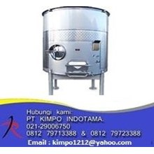 Open Top S/S Tank - Tangki Stainless