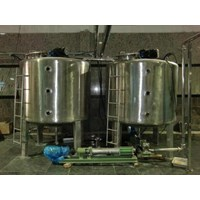 Jual Channel Jacketed Stainless Steel Tank - Water Treatment Lainnya 2