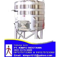 Channel Jacketed Stainless Steel Tank - Tangki Stainless 1