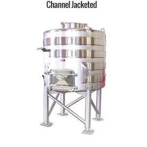 Channel Jacketed Stainless Steel Tank - Water Treatment Lainnya