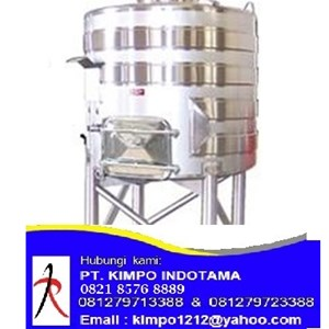 Channel Jacketed Stainless Steel Tank - Tangki Stainless