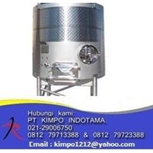 Fermentation S/S Tank - Water Treatment Lainnya