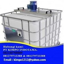 Alkaly Feeder Tank - filter alkali