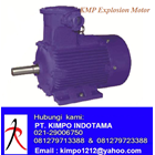 Compact Gear Motor -  KMP JMB Explosion Motor 1
