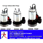 Pompa Submersible - KMP Sewage Submersible Pump 1
