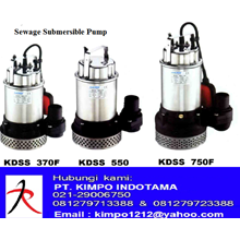 Pompa Submersible - KMP Sewage Submersible Pump