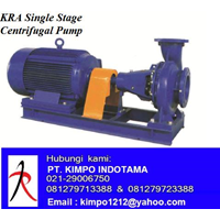 Pompa Centrifugal - KRA Single Stage Centrifugal P