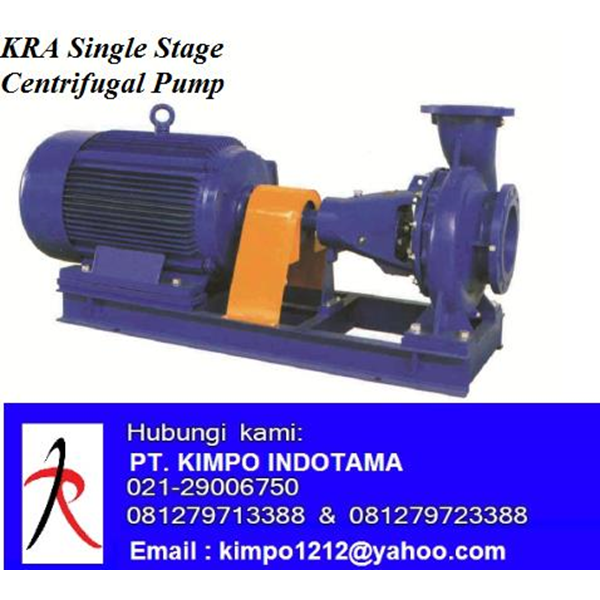 "Pompa Sentrifugal - KRA Single Stage Centrifugal Pumps ""KMP"