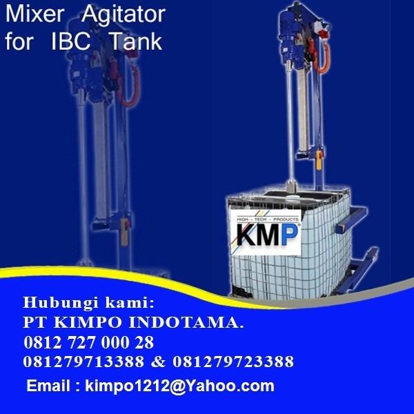 Alat Pengaduk Liquid - Agitator Mixer