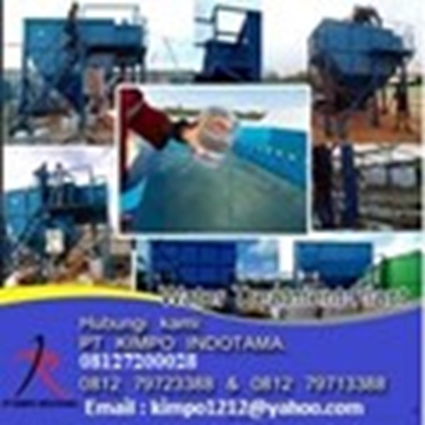 "Spesialisasi Water Treatment Clarifier Lamella ""KMP"""
