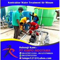 Kontraktor Water Treatment Air Minum