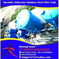 Spesialis Anthracite stainless Steel Filter Tank