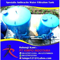 Spesialis Anthracite Water Filtration Tank