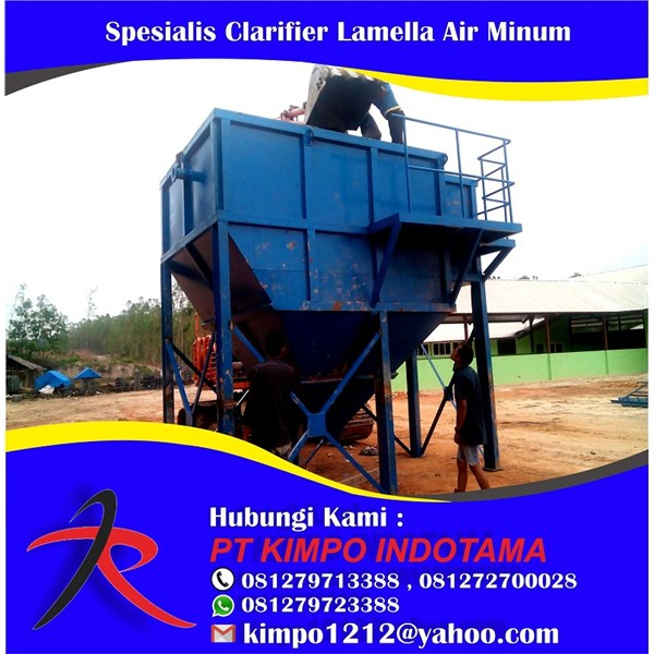 Jual Jasa Spesialis Clarifier Lamella Air Minum