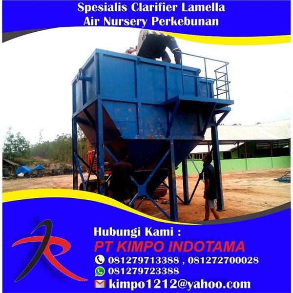 Spesialis Clarifier Lamella Air Nursery Perkebunan
