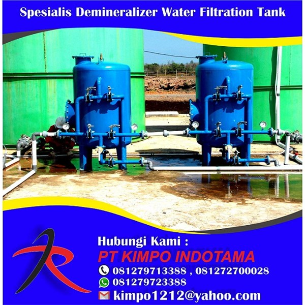 Spesialis Demineralizer Water Filtration Tank
