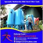 Spesialis Multimedia Mild Steel Filter Tank 1