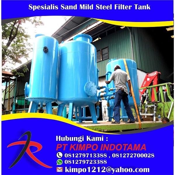 Spesialis Sand Mild Steel Filter Tank