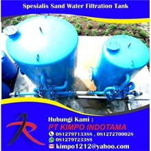 Spesialis Sand Water Filtration Tank