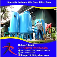 Spesialis Softener Mild Steel Filter Tank