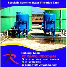 Spesialis Softener Water Filtration Tank