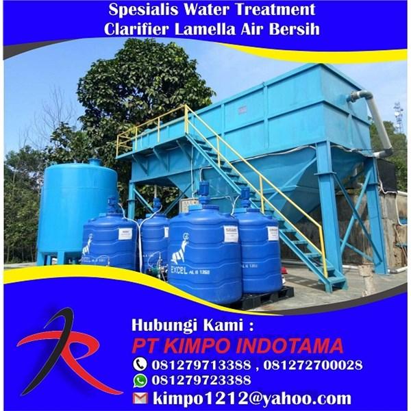 Spesialis Water Treatment Clarifier Lamella Air Bersih