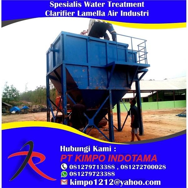 Spesialis Water Treatment Clarifier Lamella Air Industri
