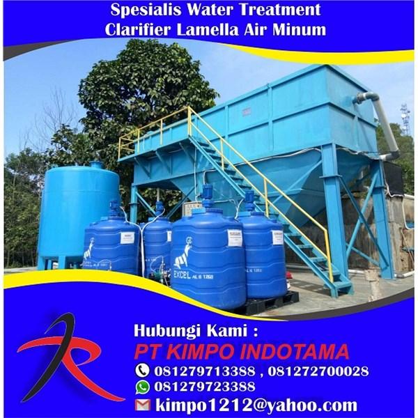 Spesialis Water Treatment Clarifier Lamella Air Minum