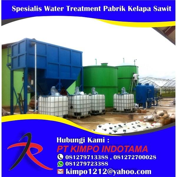 Jasa Spesialis Water Treatment Pabrik Kelapa Sawit