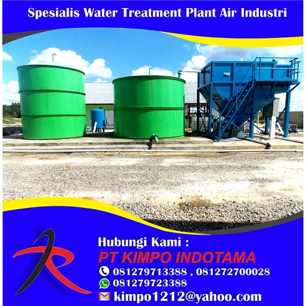Spesialis Water Treatment Plant Air Industri